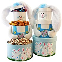Somebunny Special Bunny Gift Tower (Select Pink or Blue)