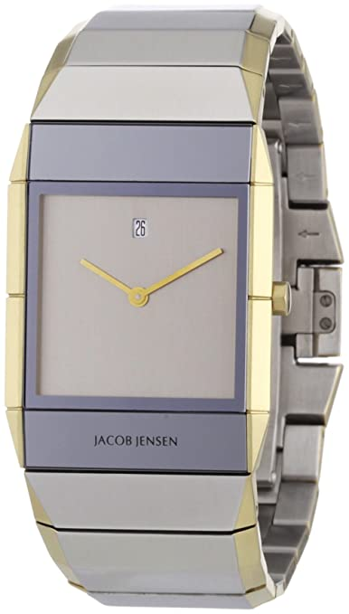 Jacob Jensen 553 Sapphire Crystal Two-Tone Men's Watch at Sears.com
