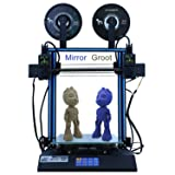 HICTOP 3D Printer IDEX Independent Dual Extruder 24V D3 Hero Direct Feed 11.8x11.8x13.8 inch(300x300x350mm) (Dual Extruder) (Color: Dual Extruder, Tamaño: 11.8x11.8x13.8 inch)