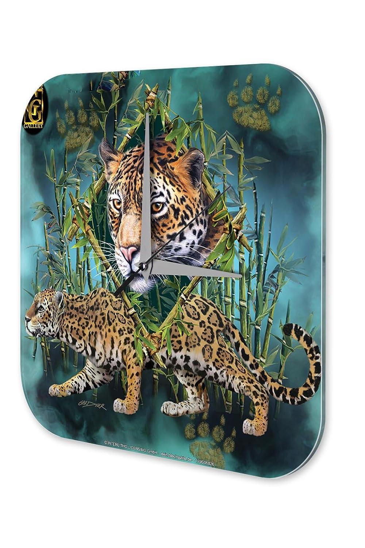 Wanduhr Deko Kinderzimmer Marke Leopard Dekouhr 25×25 cm kaufen