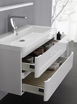 "KZOAO Badezimmerserie ""Berlin"" Bathroom Sink with Cupboard 85 CM"