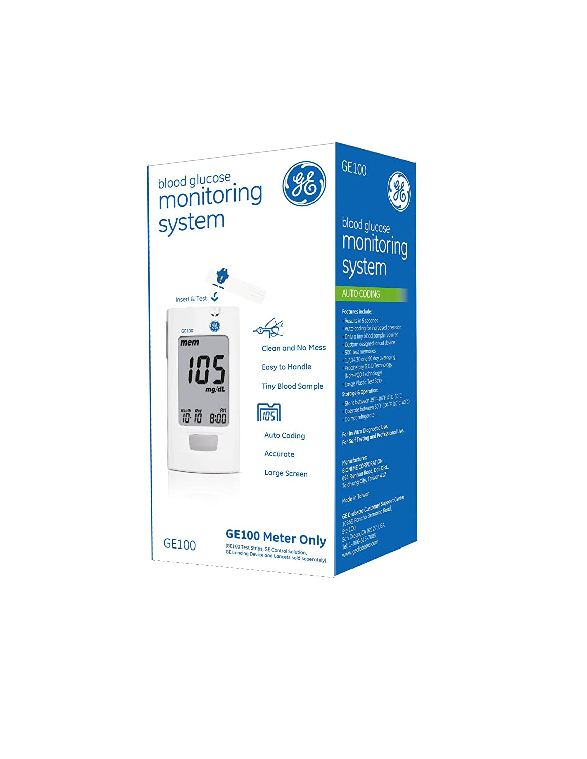 Us Ge100 Blood Glucose Monitoring Sys End 8 5 2018 1 15 Am