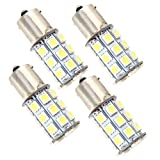 (Pack of 4) 1156 7506 1003 1141 1073 BA15S 1095 1073 LED Bulbs with Projector Interior RV Camper light,Back Up Reverse Lights,Tail Lights,Brake lights Xenon White 6000K