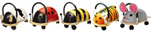 Prince Lionheart Wheely Bug, Cow, Small (Color: Cow, Tamaño: Small)