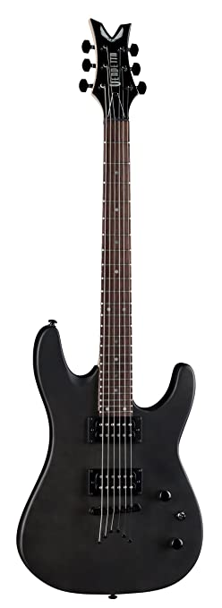 Amazon.com: Dean Vendetta XM Solid Body Electric Guitar, Black ...
