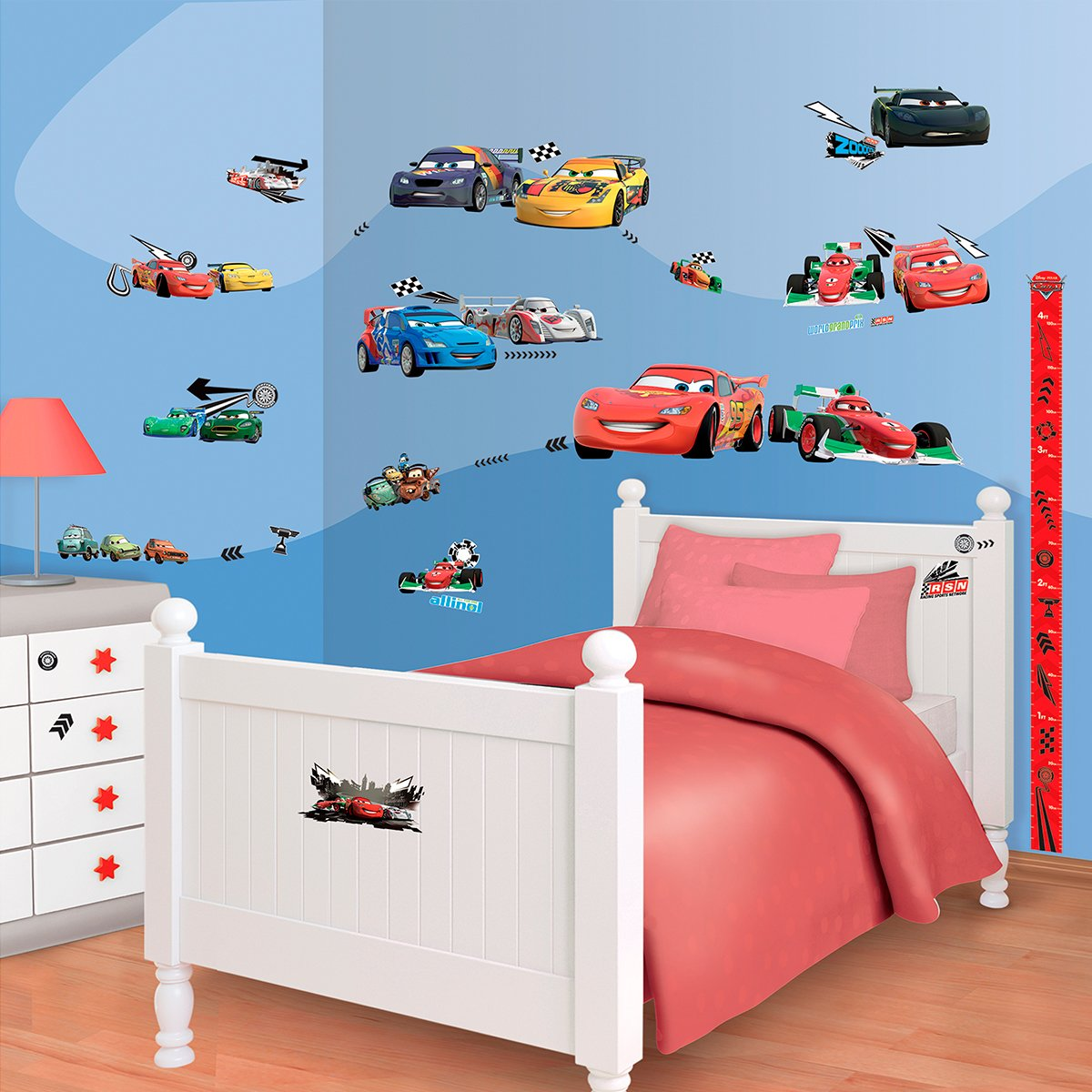Walltastic Mini Kit Disney Cars bestellen