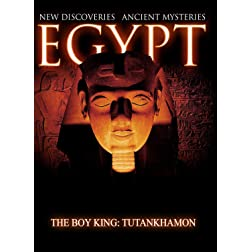 Egypt New Discoveries  The Boy King: Tutankhamon [Blu-ray]