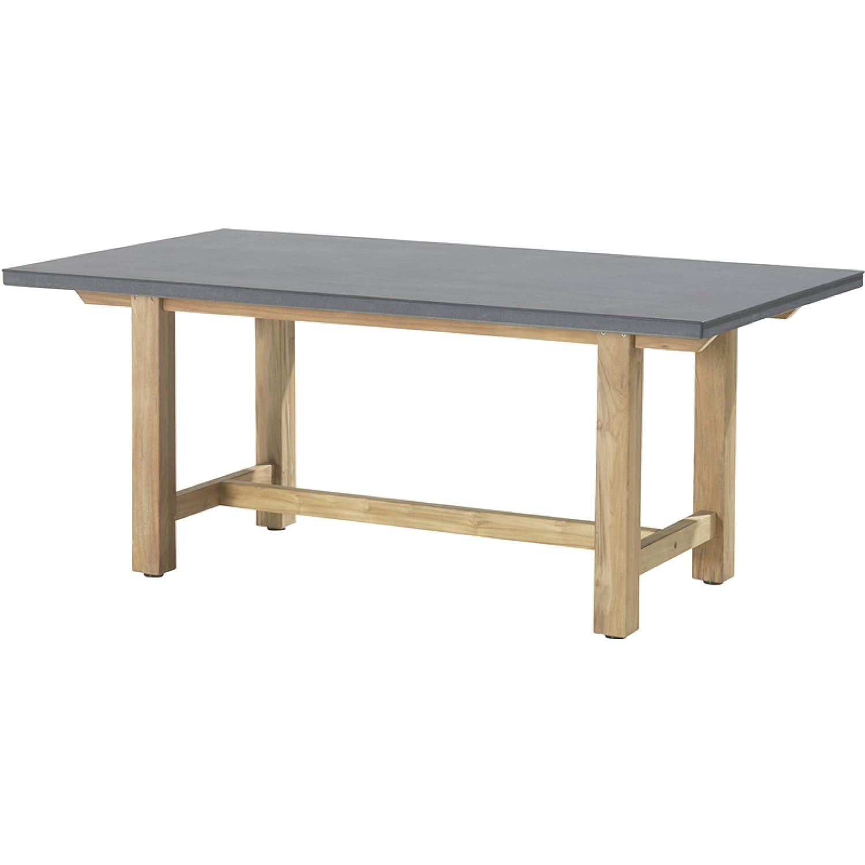 4Seasons Outdoor Extreme Tisch 180 x 100 cm smartstone anthrazit/Teakholz jetzt kaufen