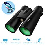 10x42 Compact Binoculars for Adults | Binoculars for Birds Watching - High Powered HD Binoculars wth Clear Weak Light Vision - Portable Binoculars for Hunting Scenery Concerts Sports (Color: 10x42 Binoculars)