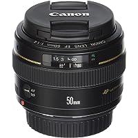 Canon EF 50mm F/1.4 USM Lens for Canon SLR Cameras (Black)
