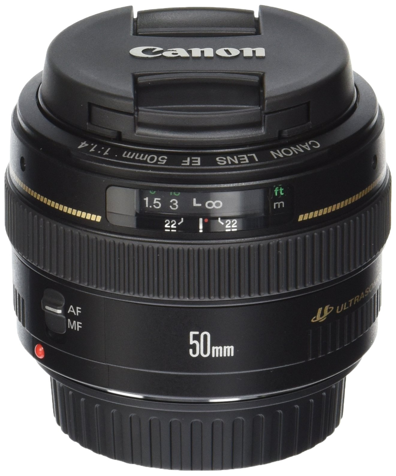 Canon EF 50mm f/1.4 USM Standard & Medium Telephoto Lens for Canon SLR Cameras