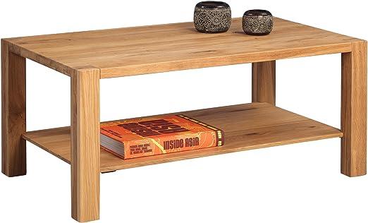 HomeTrends4You 256422 Couchtisch , Holz, wildeiche, 96 x 56 x 43 cm