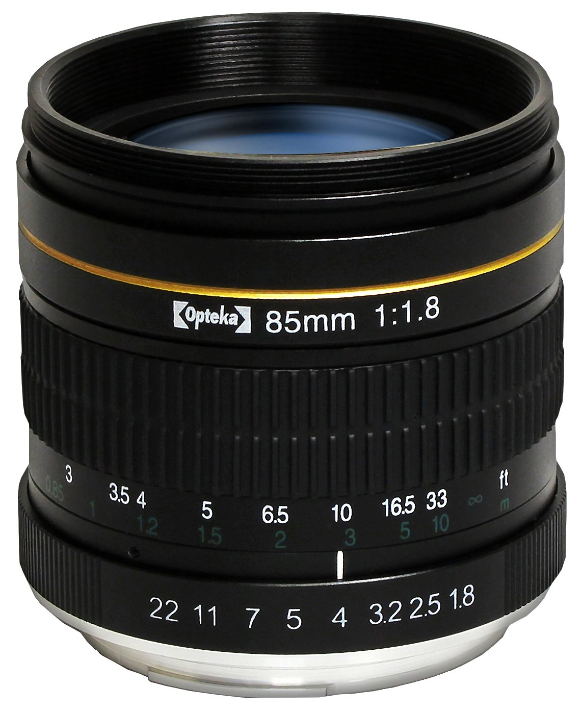 Opteka 85mm f/1.8 Manual Focus Aspherical Medium Telephoto Lens