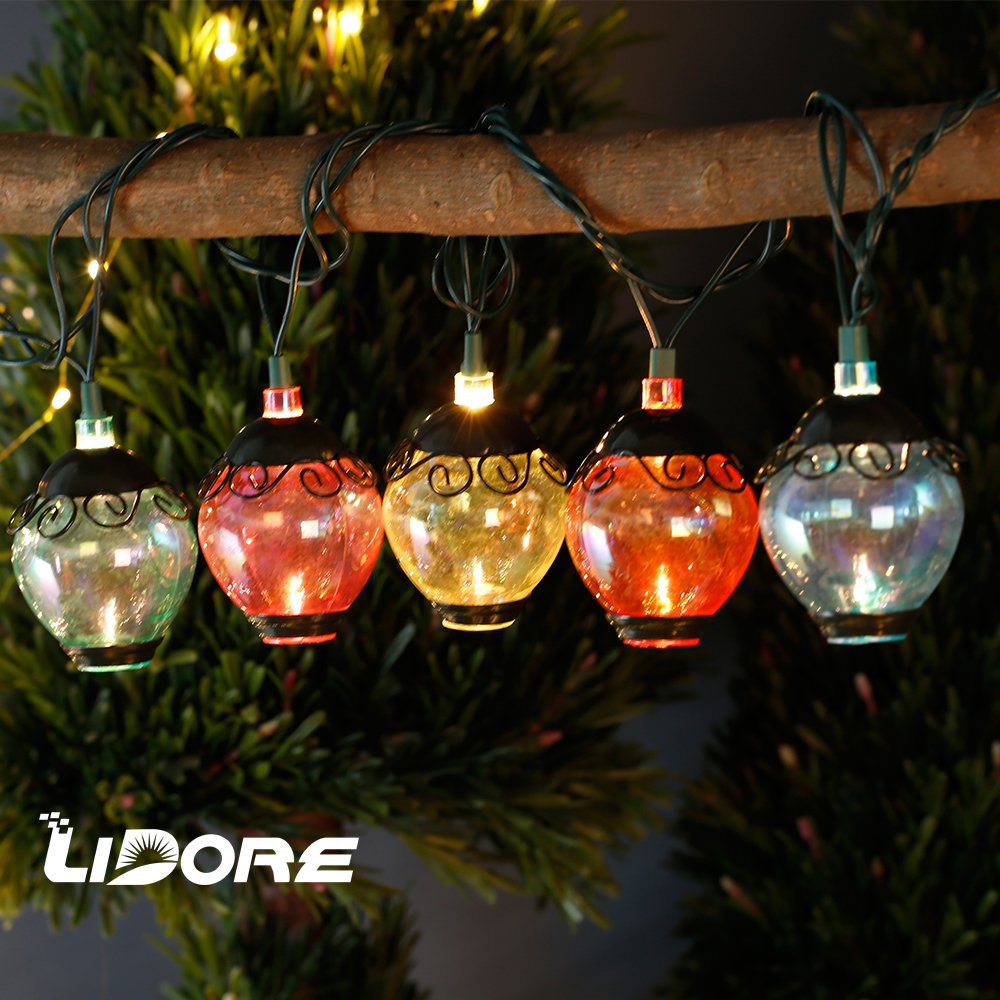 LIDORE Ancient Lantern String light. New verson. 110V, Warm White Light 0