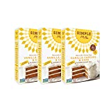 Simple Mills Almond Flour Mix, Vanilla Cupcake & Cake, 11.5 oz, 3 count