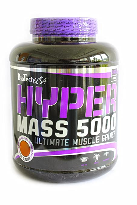BioTech USA Hyper Mass 5000  Raspberry Yogurt, 1er Pack (1 x 5 kg)