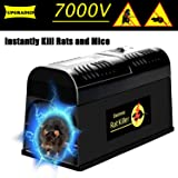 Swiser Electronic Rat Trap - Powerful Mouse Rodent Trap Killer -Eliminate Mice, Rats, Chipmunks and Squirrels Zapper, Efficiently and Safely Without Poison - Pest Control Infestation Solution (Tamaño: Pack of 1)