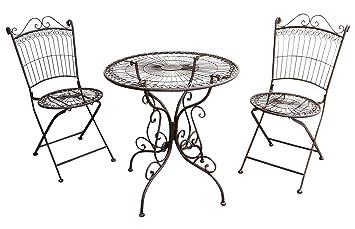 Nostalgia de la mesa de muebles de jardín muebles de estilo antiguo conjunto
