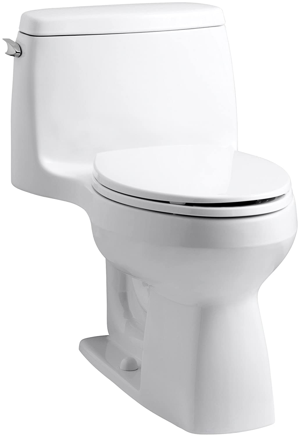 KOHLER 3810-0 Santa Rosa Comfort Height Elongated 1.28 GPF Toilet