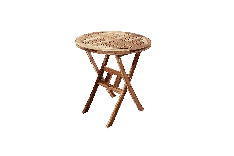 SAM® Teak Holz Balkontisch Gartentisch Holztisch Romario