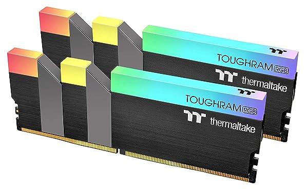 Thermaltake 16GB Toughram RGB DDR4 3600MHz CL18 Dual Channel Kit (2X 8GB) (Tamaño: 16 Gb)