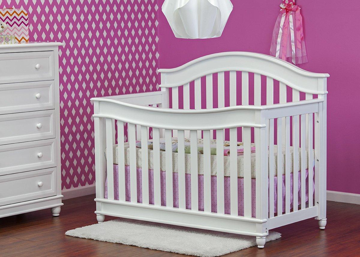 Dream on Me Mia Moda Parkland 5 in 1 Lifestyle Convertible Crib