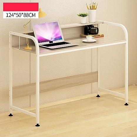 Anjcd Computadora de escritorio Mesa de trabajo Mesa de trabajo multifunción Mesa de trabajo de simplicidad moderna ( Color : 2# , Tamaño : 204cm )
