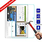 Kingsource Samsung Galaxy Note Pro 12.2 P900 Tempered Glass Screen Protector Film [2.5D Round Edge] [9H Hardness] [0.33MM Thin][Crystal Clear]