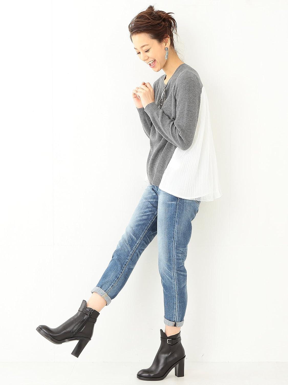 Amazon.co.jp: (レイビームス) Ray BEAMS / プリーツ チュールバック プルオーバー 63150197584 12 GREY ONE SIZE: 服&ファッション小物通販