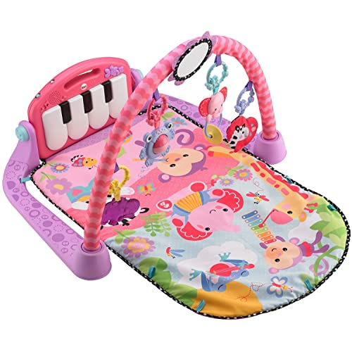 "Fisher-Price Kick and Play Piano Gym Pink Baby Playmate"" /></span><span style="