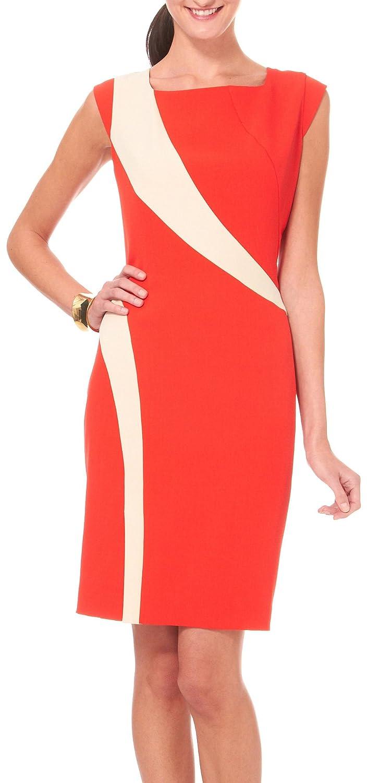 Sharagano Petite Curve Appeal Sheath Dress:
