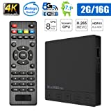 ESHOWEE ES92 Android 7.1 TV BOX Amlogic S912 Octa-core CPU DDR3 2GB RAM 16GB ROM BT 4.0 2.4/5 Dual-Band WiFi 4K UHD & LAN VP9 DLNA H.265