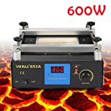 110V 853A Lead-Free Preheat Station For BGA SMT Motherboard Rework Repair Oven Welder 600W US Stock