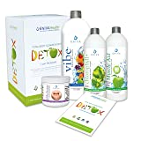 Detox Supplements Kit by Eniva Health Whole Body Detox Weight Loss Detox All Natural Detox 7 Day Detox Non-Fasting Detox - with 32 ounce Bottle
