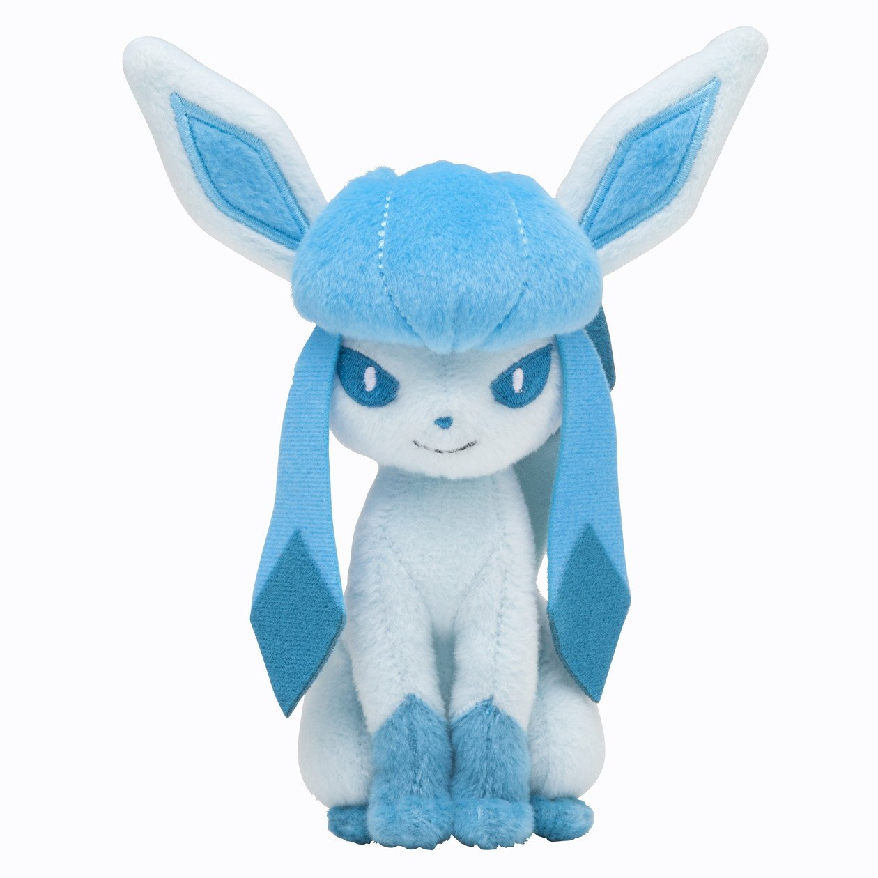 Pokémon Center Original Plush Doll Sitting Trick Pose Glaceon