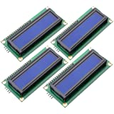 LGDehome IIC/I2C/TWI LCD 1602 16x2 Serial Interface Adapter Module Blue Backlight for Arduino UNO R3 MEGA2560 (4 pack)