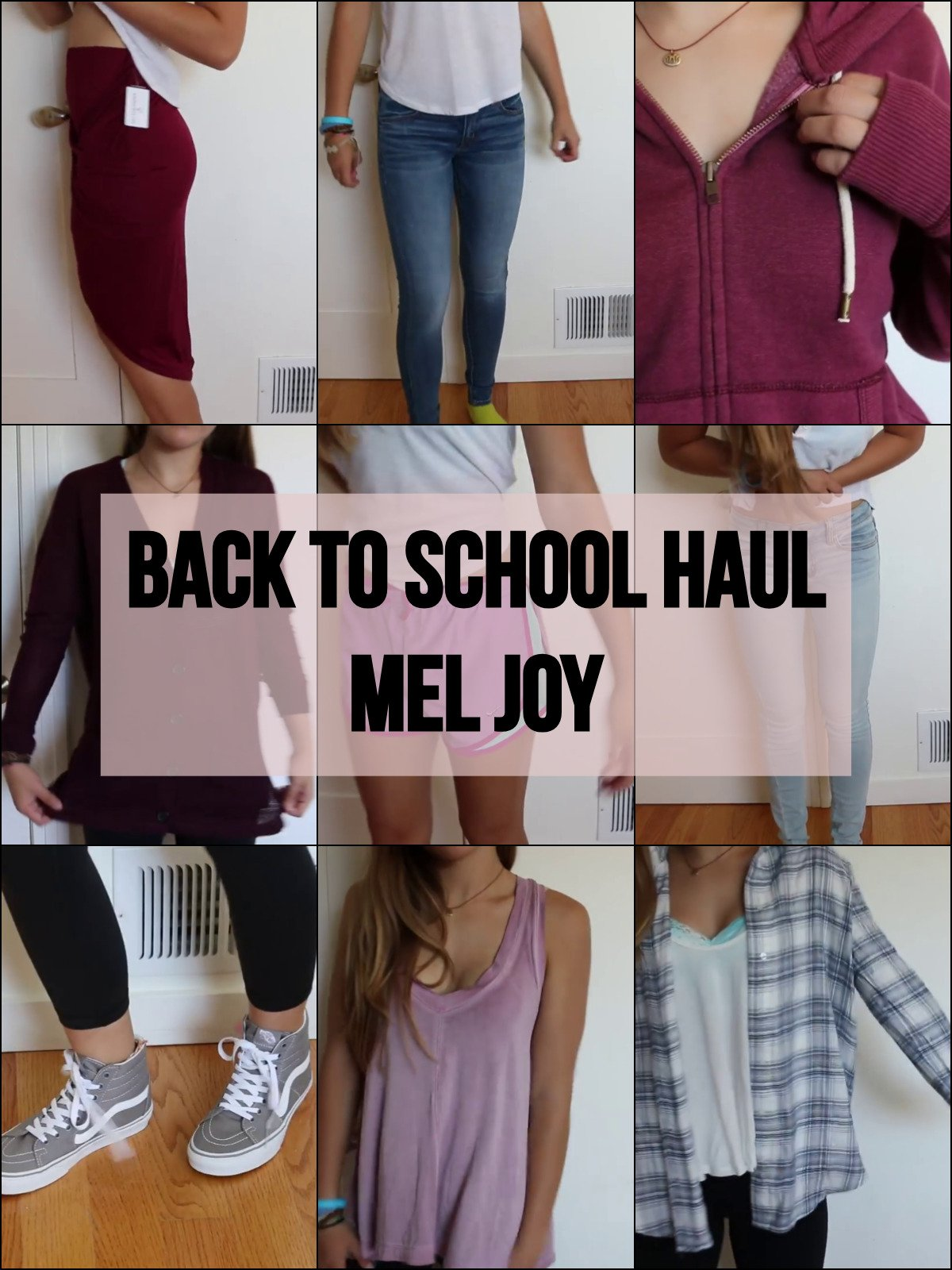 Back To School Haul - Mel Joy