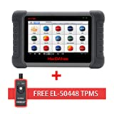 Autel Maxidas DS808 Bi-directional Automotive OBD2 Scanner Diagnostic Tool Key Fob Programming, ECU coding, ABS bleeding brake, Reset Functions including Oil Reset, EPB, SAS, DPF, BMS, ABS, SRS,TPMS