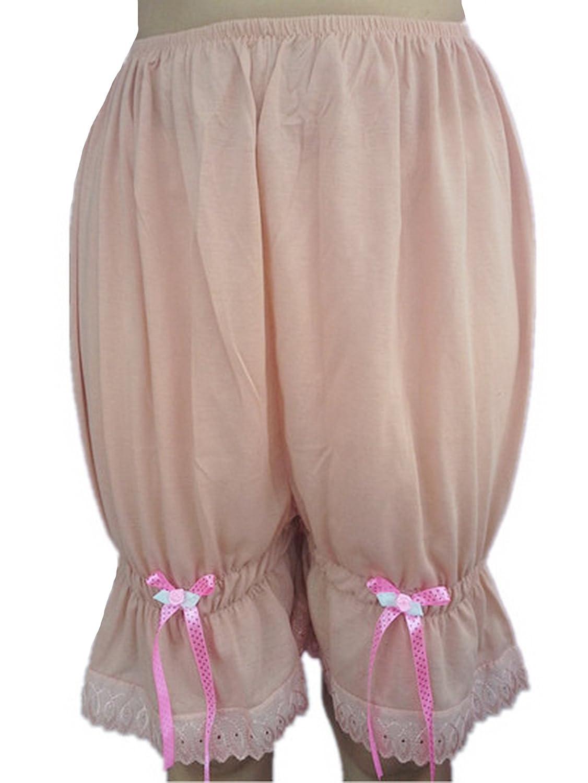 Frauen Handgefertigt Halb Slips UL2CBBW BROWN Half Slips Cotton Women Pettipants Lace günstig online kaufen
