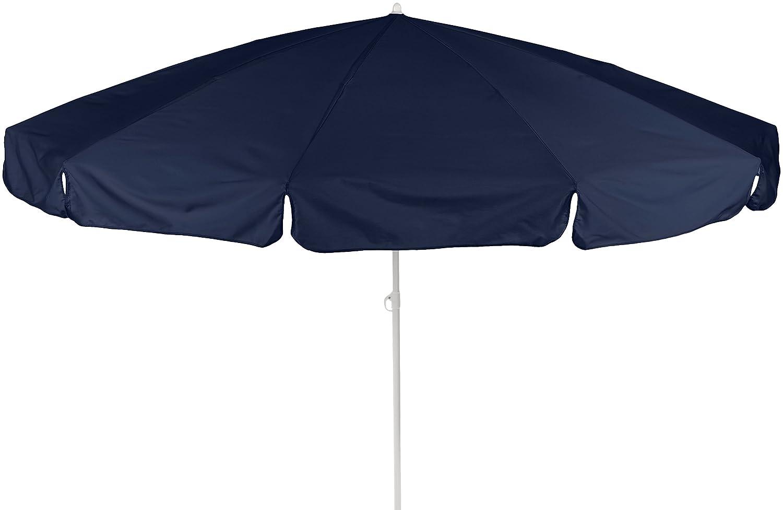 beo 140751 Dralon Sonnenschirm, Durchmesser 240 cm, blau günstig kaufen