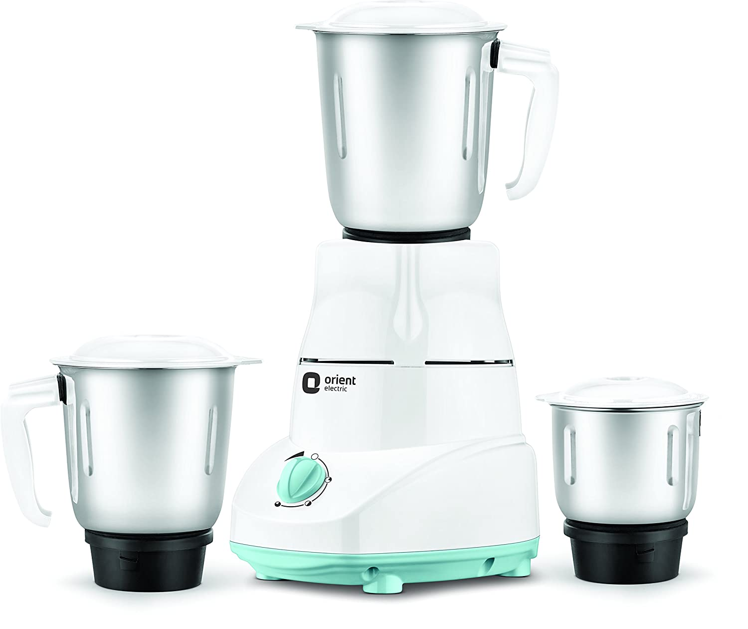 Orient Electric MGKK50B3 500 Watts Kitchen Kraft Mixer Grinder with 3 Jars (White) By Amazon @ Rs.1,399
