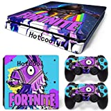 Vinyl Decal Fortnite Protective Save The World Skin Cover Sticker For PS4 Playstation 4 Pro System Console and Controllers Decal Cover Vinal Sticker + 2 Controller Skins Set Style 1550