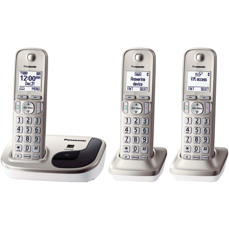 Telefonos-fijos Panasonic, Panasonic KX TGD213N dect_6.0 3 teléfono fijo teléfono en Veo y Compro