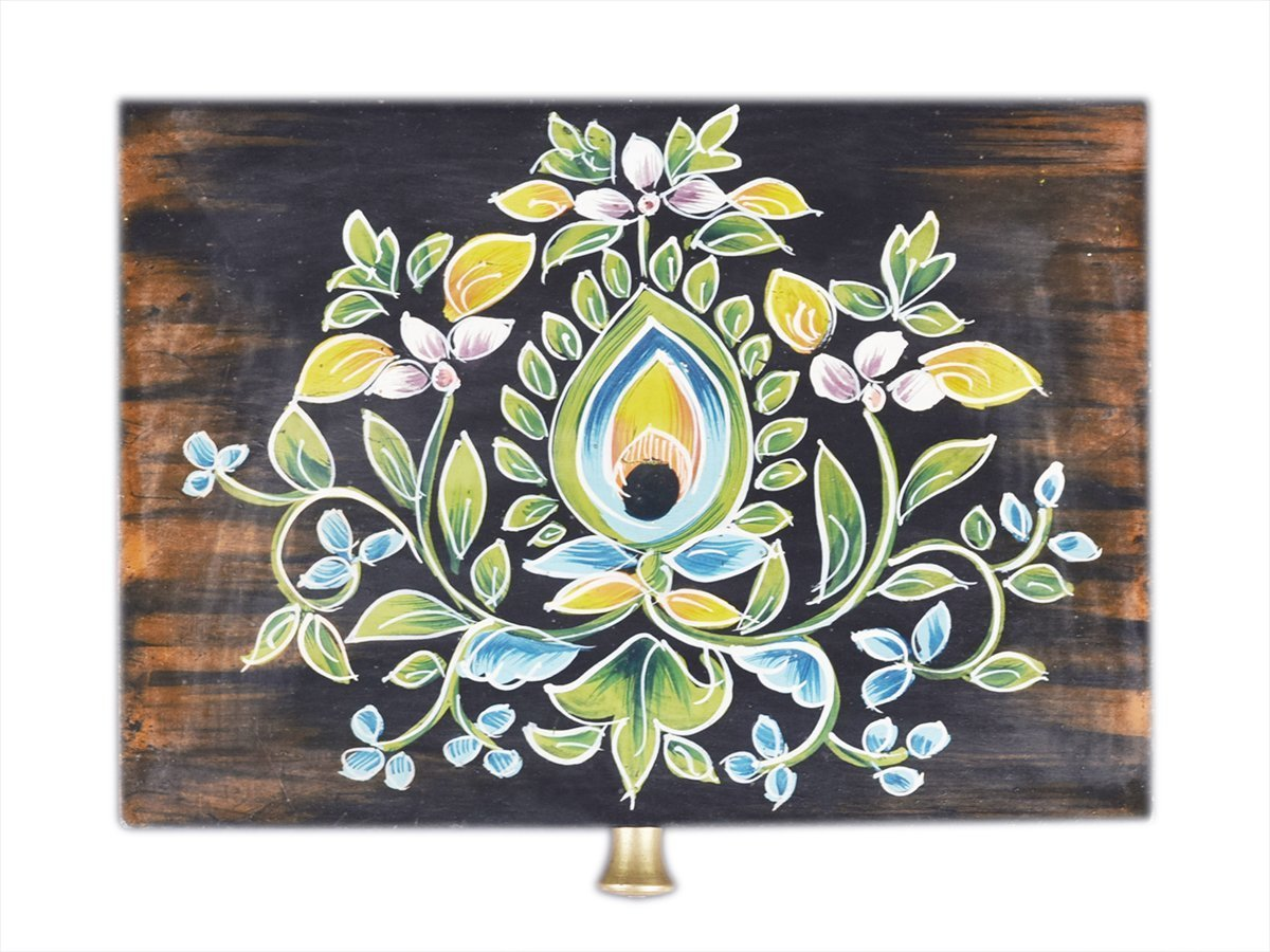 Box Hand Painted Floral Design