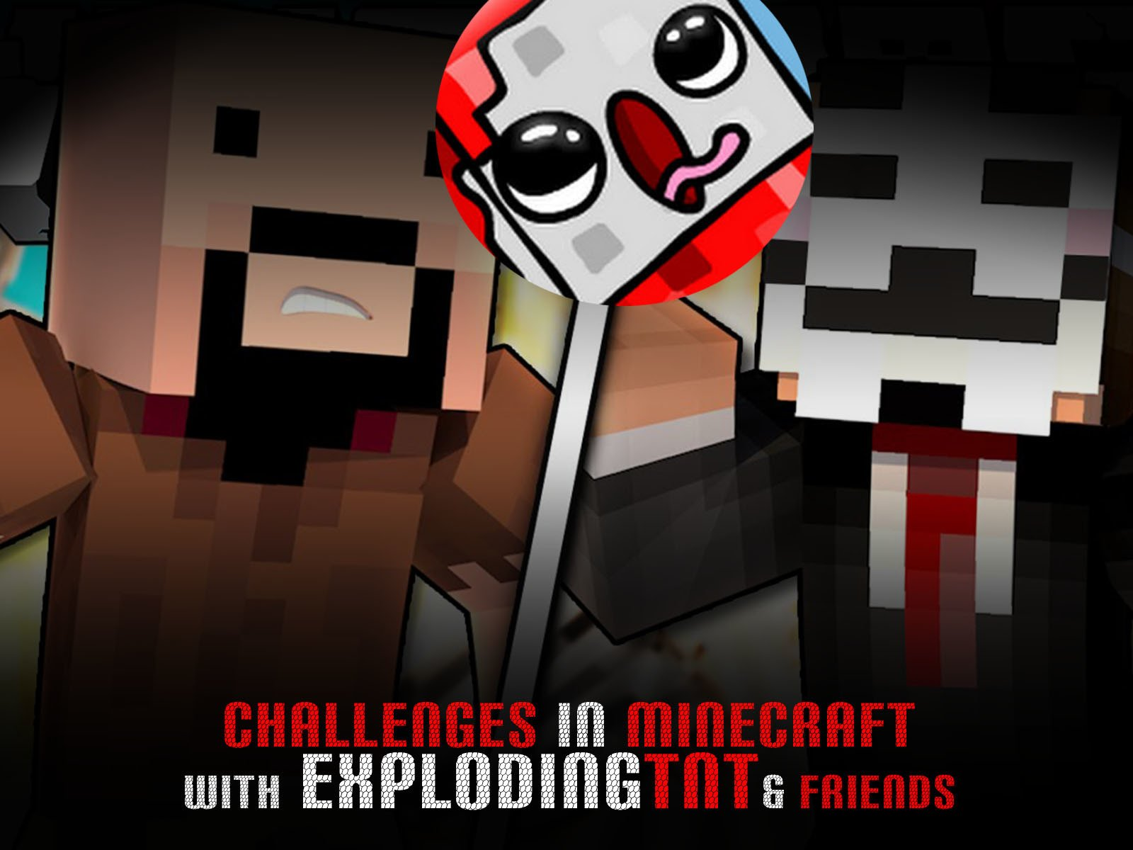 Challenges in Minecraft with ExplodingTNT & Friends - Season 1
