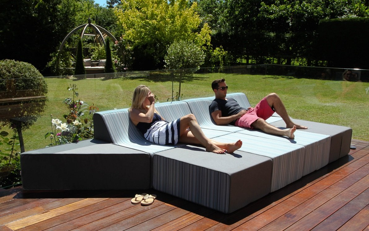 stoff lucia outdoor garten m bel esstisch set st hle g nstig kaufen. Black Bedroom Furniture Sets. Home Design Ideas