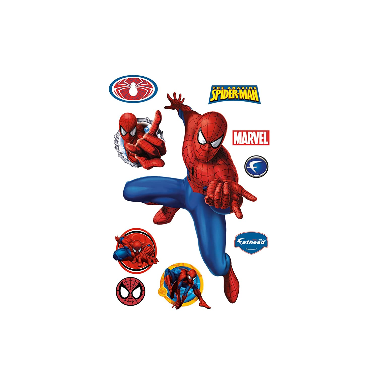 Spiderman Webslinger Wall Decal