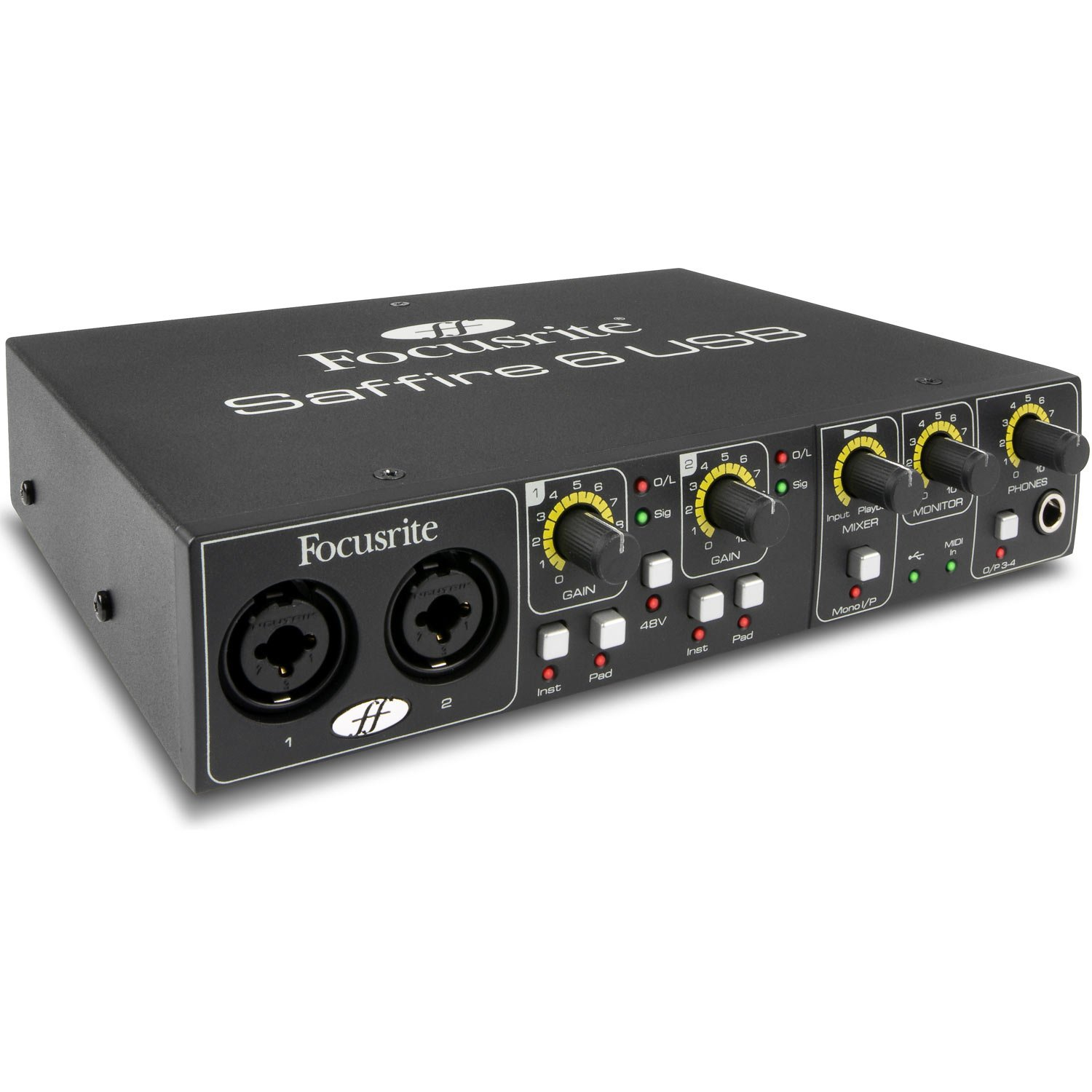 Record Tools : Focusrite Saffire 6 USB Audio Interface ~ Music