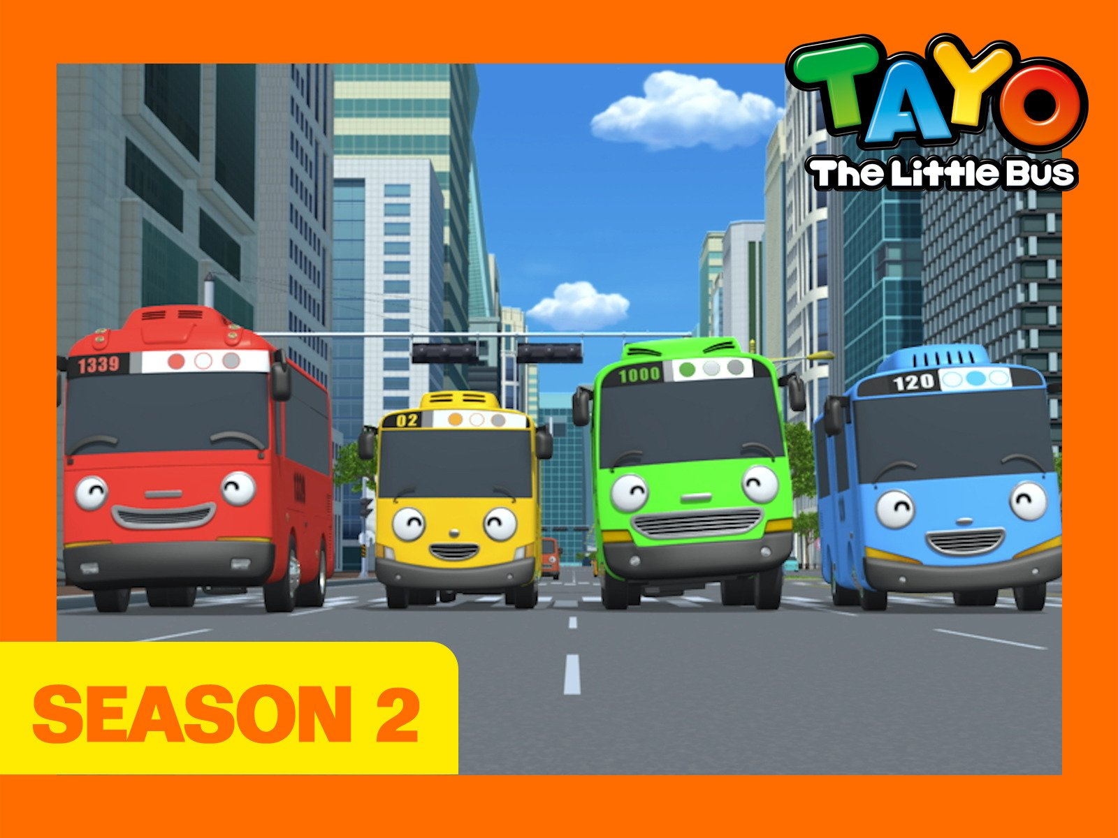 Tayo the Little Bus - Season 2