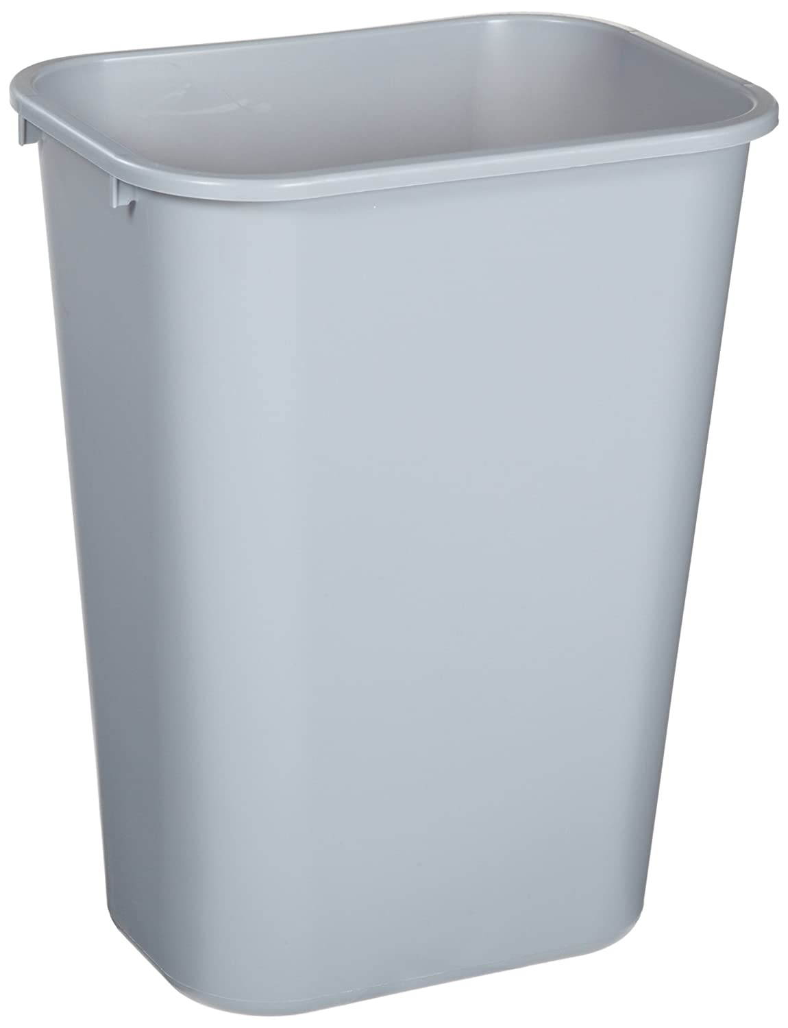 Rubbermaid bathroom wastebasket plastic trash can bin for Bathroom garbage can